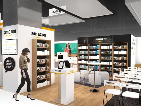 AMAZON - SALON DU LIVRE 2017